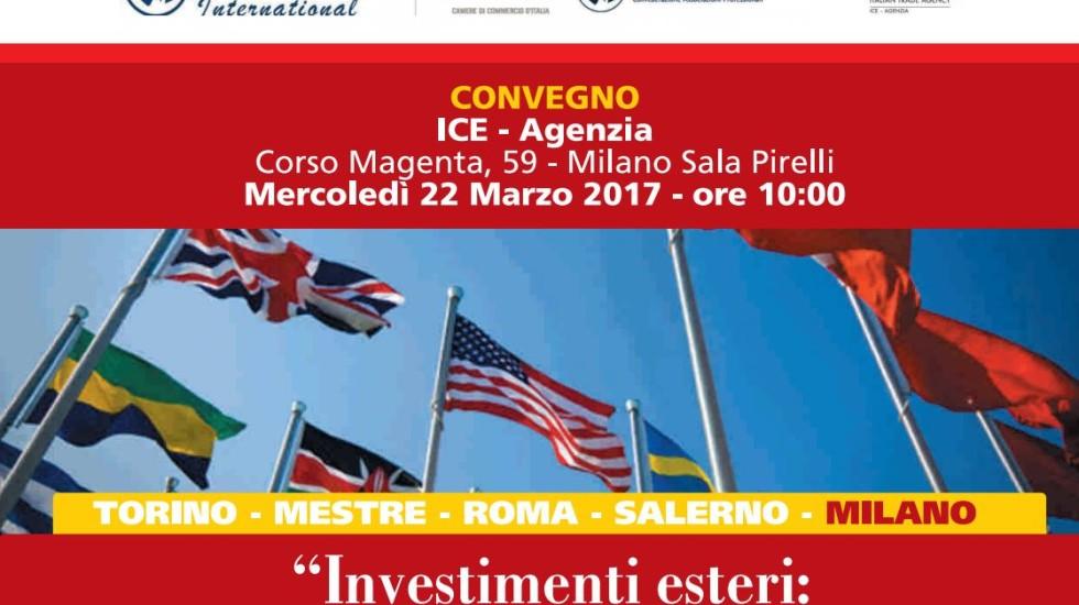Investimenti esteri: risorsa odierna, e speranza di domani
