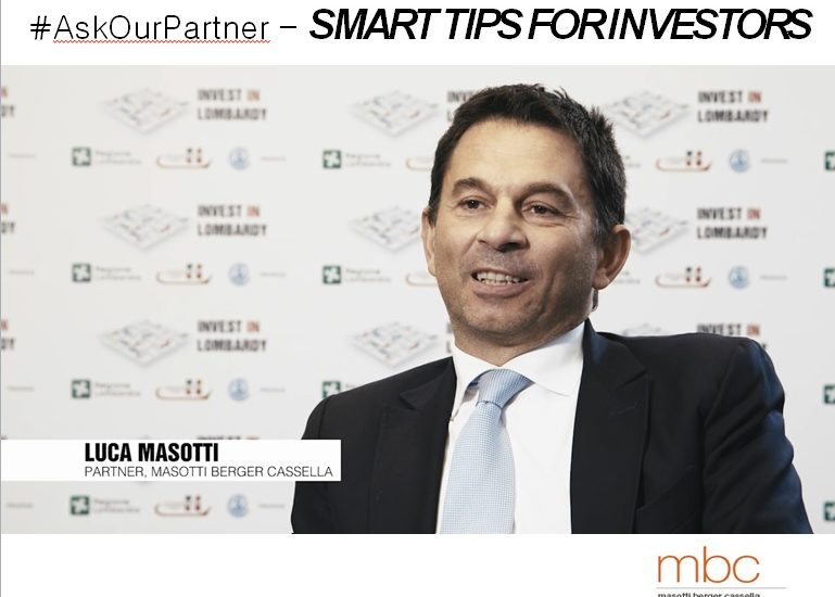 Lombardy is …innovation! #AskOurPartner Masotti Berger Cassella