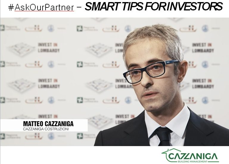 Lombardy is …efficiency! #AskOurPartner Cazzaniga Building Management